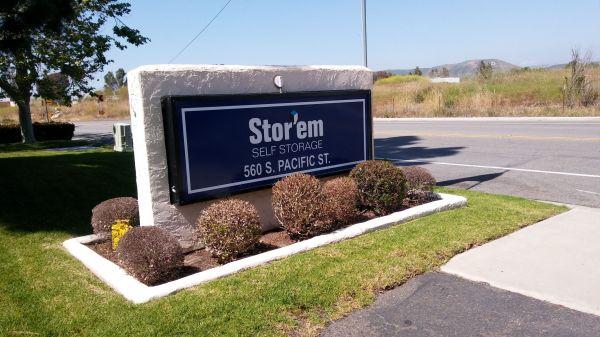 Stor'em Self Storage - Carlsbad 560 S Pacific St San Marcos, CA - Photo 1