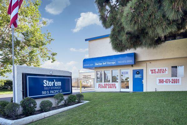 Stor'em Self Storage - Carlsbad 560 S Pacific St San Marcos, CA - Photo 0