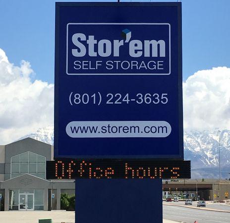 Stor'em Self Storage - Orem 1450 W 800 N Orem, UT - Photo 0