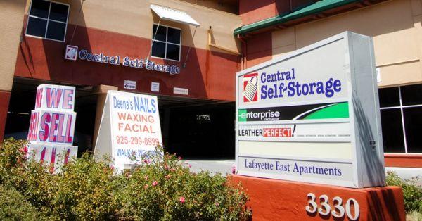 Central Self Storage - Lafayette 3330 Mt Diablo Blvd Lafayette, CA - Photo 0