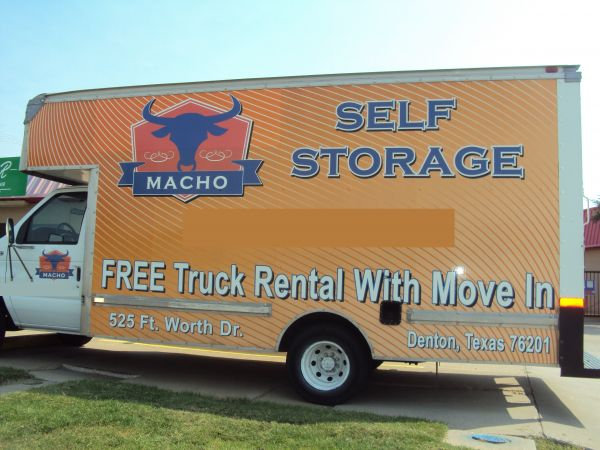 Macho Self Storage - Denton 525 Fort Worth Dr Denton, TX - Photo 2