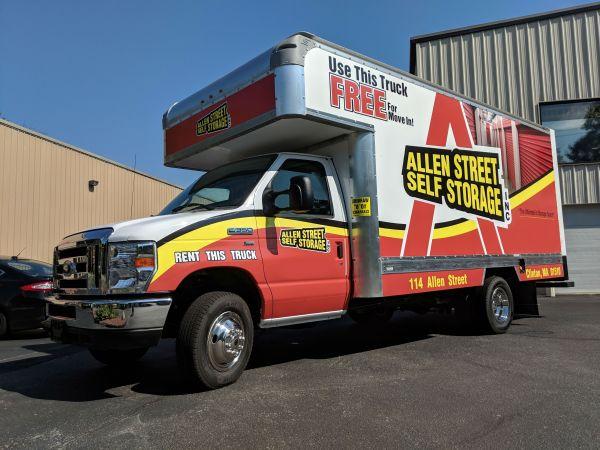 Allen Street Self Storage - Clinton 114 Allen St Clinton, MA - Photo 1