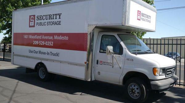 Security Public Storage - Woodland 1401 Woodland Ave Modesto, CA - Photo 1