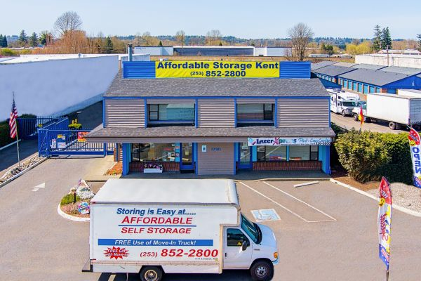 Affordable Self Storage - Kent 1721 Central Ave S. Kent, WA - Photo 0
