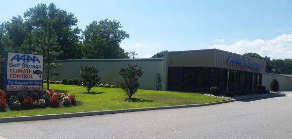AAAA Self Storage & Moving - Newport News - 217 Harpersville Road 217 Harpersville Road Newport News, VA - Photo 1