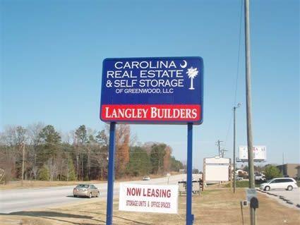 Carolina Self Storage - Main 2418 Highway 72 Greenwood, SC - Photo 0