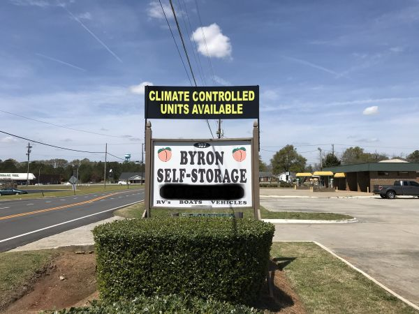 Byron Self Storage 107 West White Road Byron, GA - Photo 1