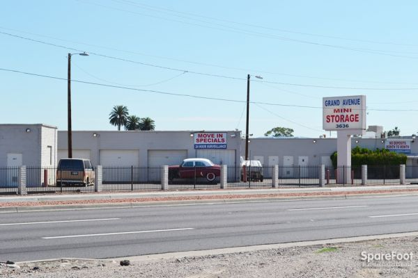 Grand Avenue Mini Storage 3636 Grand Avenue Phoenix, AZ - Photo 2