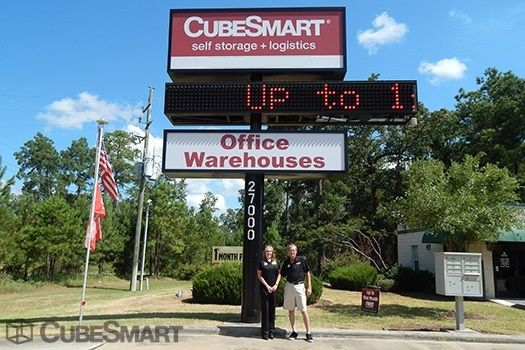 CubeSmart Self Storage - Tomball - 27000 Kuykendahl Rd 27000 Kuykendahl Road Tomball, TX - Photo 1