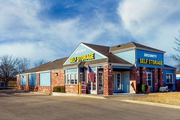 Security Self Storage - Hillside 405 South Hillside Street Wichita, KS - Photo 0