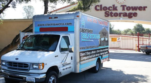Clocktower Self Storage7500 Folsom Auburn Road   Folsom, CA   Photo 7 ...