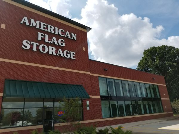 American Flag Self Storage - Guilford College Road 817 Guilford College Road Greensboro, NC - Photo 1