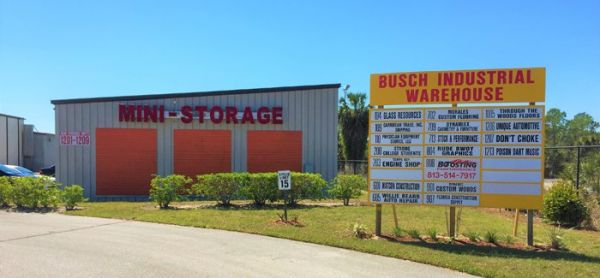 Busch Warehouse and Mini Storage 1717 East Busch Boulevard Tampa, FL - Photo 2