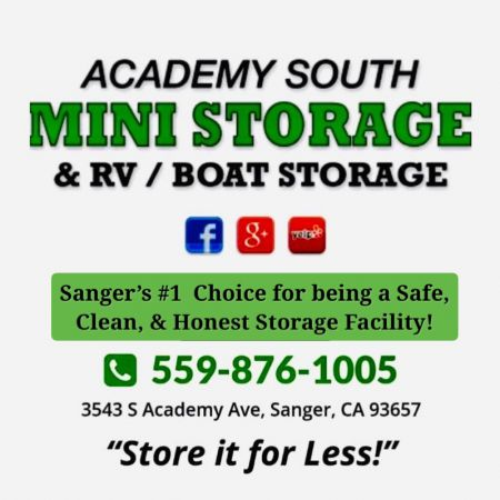 Academy South Mini Storage 3543 S Academy Ave Sanger, CA - Photo 0