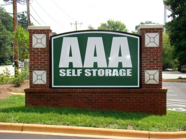 AAA Self Storage - Greensboro - W Friendly Ave. 5501 West Friendly Avenue Greensboro, NC - Photo 1