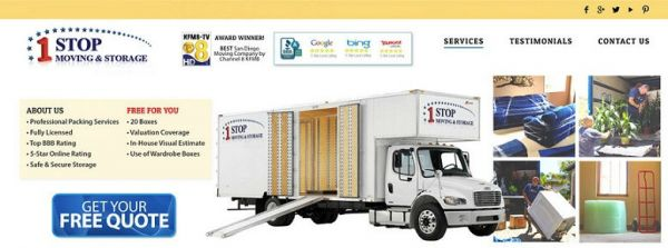 One Stop Moving And Storage6260 Marindustry Drive   San Diego, CA   Photo 0  ...