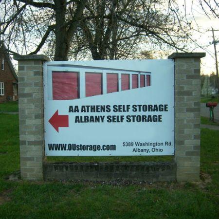 Albany Self Storage - Athens County 5389 Washington Road Albany, OH - Photo 0