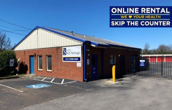 Simply Self Storage - 6504 E Raines Road - Memphis 6504 East Raines Road Memphis, TN - Photo 0