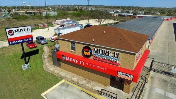Move It Self Storage - Crestway 7345 Crestway Drive San Antonio, TX - Photo 0