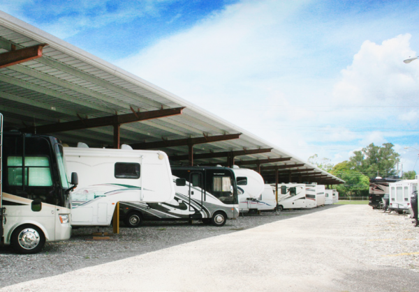 Clearwater Storage - Covered RV/Boat Space. Units Air Conditioned 14433 62nd Street North Clearwater, FL - Photo 3