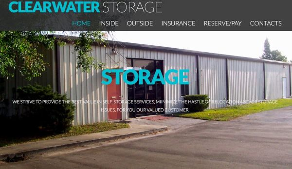 Clearwater Storage - Covered RV/Boat Space. Units Air Conditioned 14433 62nd Street North Clearwater, FL - Photo 1