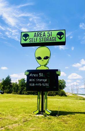 Area 51 Mini Storage 5151 West 51st Street Tulsa, OK - Photo 1