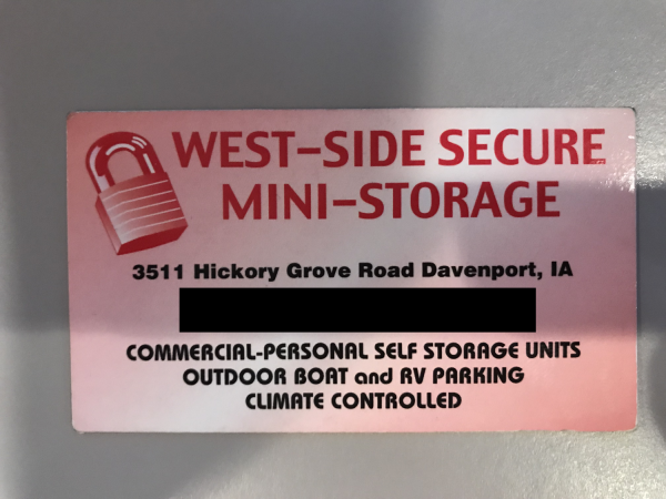 West Side Secure Mini Storage 3511 Hickory Grove Rd Davenport, IA - Photo 3