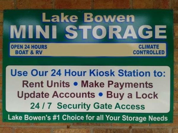 Lake Bowen Mini Storage 8790 Highway 9 Inman, SC - Photo 0