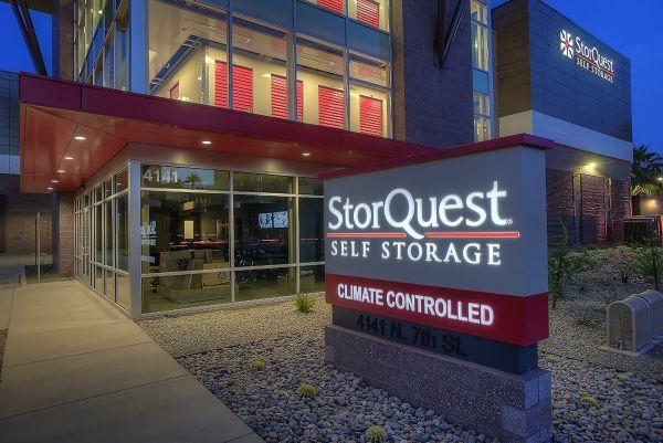 StorQuest - Phoenix/7th St 4141 North 7th Street Phoenix, AZ - Photo 2