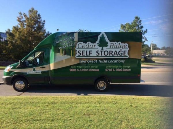 Cedar Ridge South 75 Storage 9001 South Union Avenue Tulsa, OK - Photo 8
