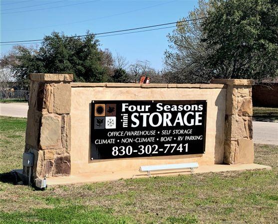 Four Seasons Mini Storage - New Braunfels 190 Center Street New Braunfels, TX - Photo 1