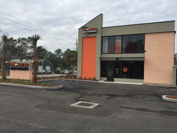 Monster Self Storage - Clement's Ferry 1176 Clements Ferry Road Charleston, SC - Photo 0