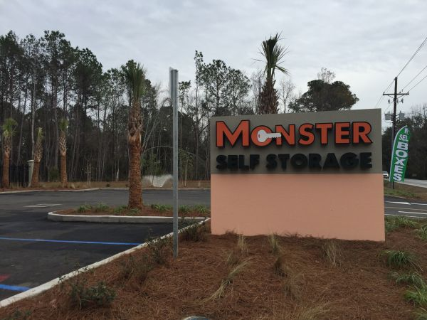 Monster Self Storage - Clement's Ferry 1176 Clements Ferry Road Charleston, SC - Photo 1