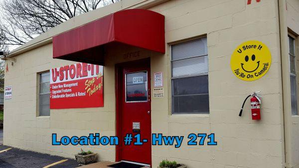 U-Store-It - Ft. Smith - 5808 Hwy 271 5808 U.S. 271 Fort Smith, AR - Photo 1