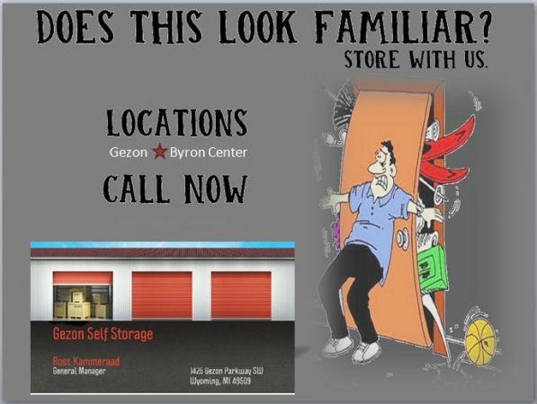 Clyde Park Self Storage - Byron Center 8111 Clyde Park Avenue Southwest Byron Center, MI - Photo 2