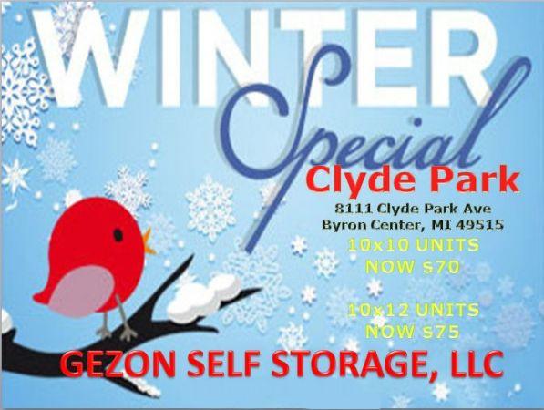 Clyde Park Self Storage - Byron Center 8111 Clyde Park Avenue Southwest Byron Center, MI - Photo 1