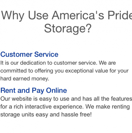 ... Americau0027s Pride Storage3801 West Innovation Street - Sioux Falls SD - Photo ...  sc 1 st  Self Storage & Americau0027s Pride Storage: Lowest Rates - SelfStorage.com