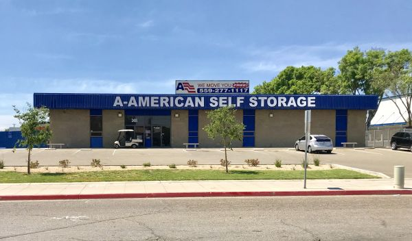 A-American Self Storage - Marks Ave. 2455 N Marks Ave Fresno, CA - Photo 0