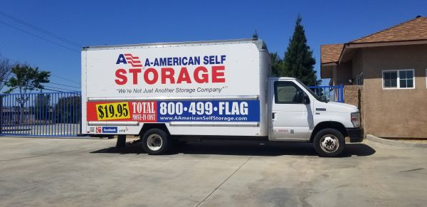 A-American Self Storage - Marks Ave. 2455 N Marks Ave Fresno, CA - Photo 2