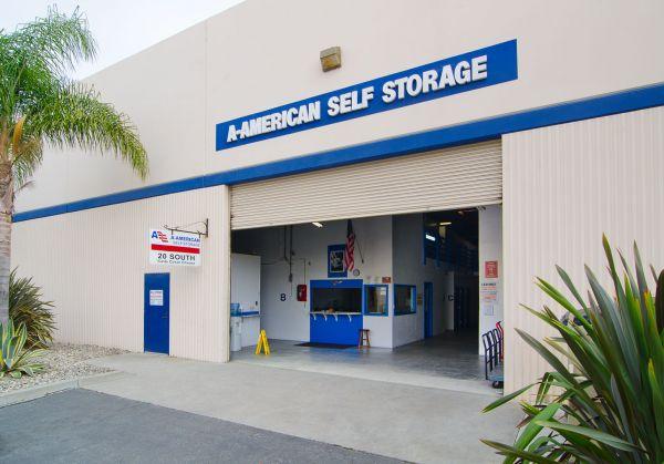 A-American Self Storage - Santa Barbara 20 S Calle Cesar Chavez Santa Barbara, CA - Photo 0