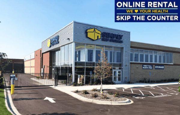 Simply Self Storage - 593 Commerce Drive - Woodbury