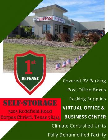 1st Defense Self Storage 3205 Rodd Field Road Corpus Christi, TX - Photo 0