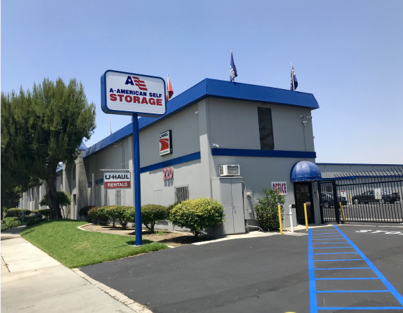 A-American Self Storage - Rialto 220 W Valley Blvd Rialto, CA - Photo 0