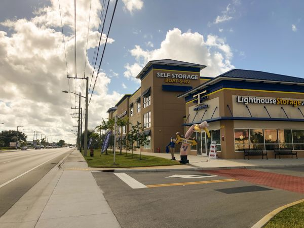 Lighthouse Self Storage West Palm Beach 2909 South Military Trail West Palm Beach, FL - Photo 1