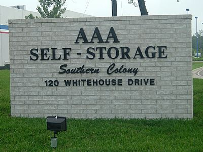 AAA Self Storage - South Colony 120 Whitehouse Dr Lufkin, TX - Photo 1