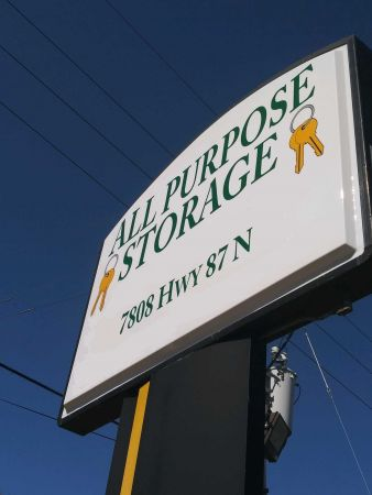 All Purpose Storage 7808 Highway 87 Orange, TX - Photo 0