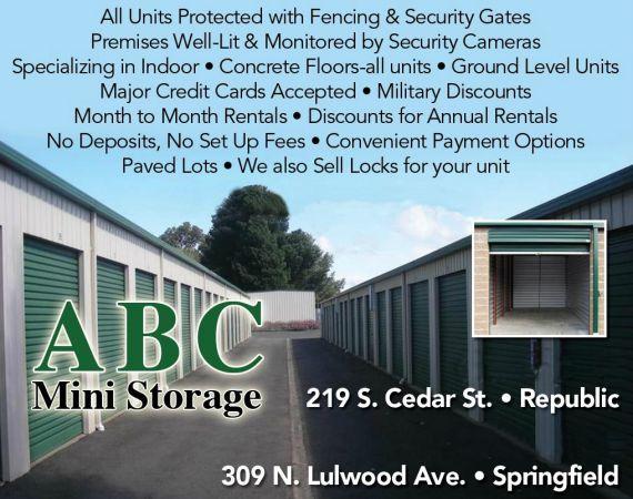 ABC Mini Storage - Springfield 309 North Lulwood Avenue Springfield, MO - Photo 2