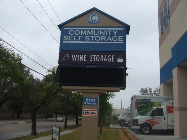 Community Self Storage - Memorial / Galleria - 2101 S. Voss 2101 South Voss Road Houston, TX - Photo 3