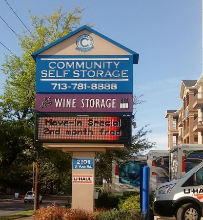 Community Self Storage - Memorial / Galleria - 2101 S. Voss 2101 South Voss Road Houston, TX - Photo 1