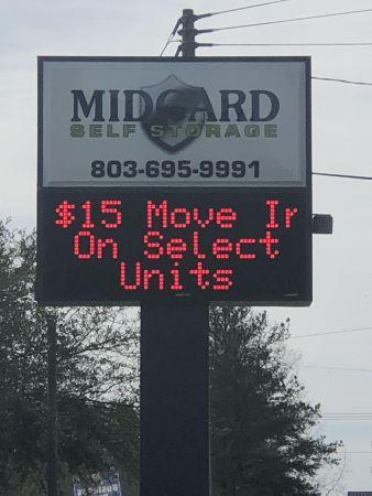 Midgard Self Storage - Columbia 1210 Atlas Road Columbia, SC - Photo 0